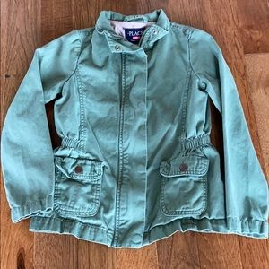 Adorable army green jacket